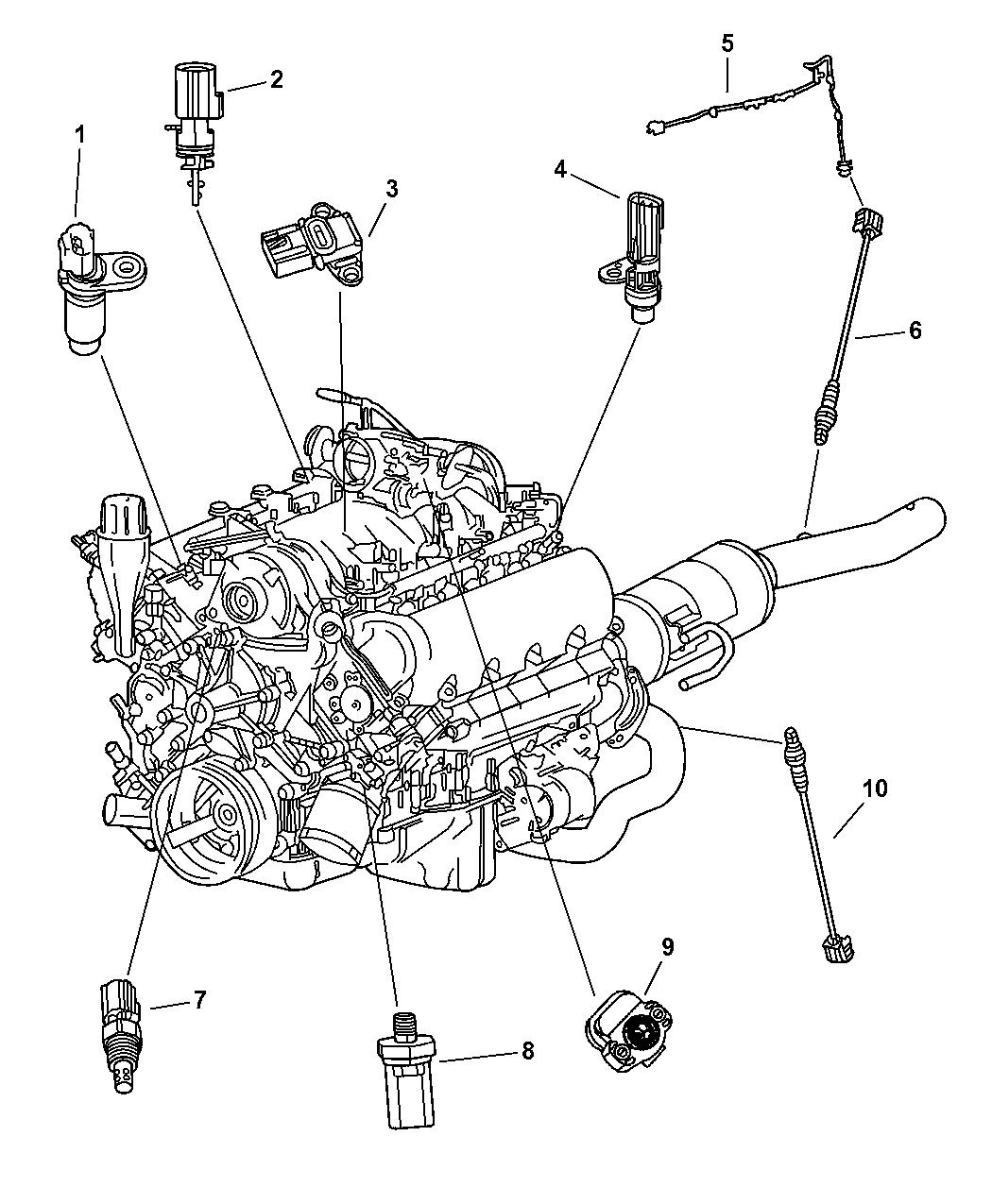 Dodge Durango Sensors