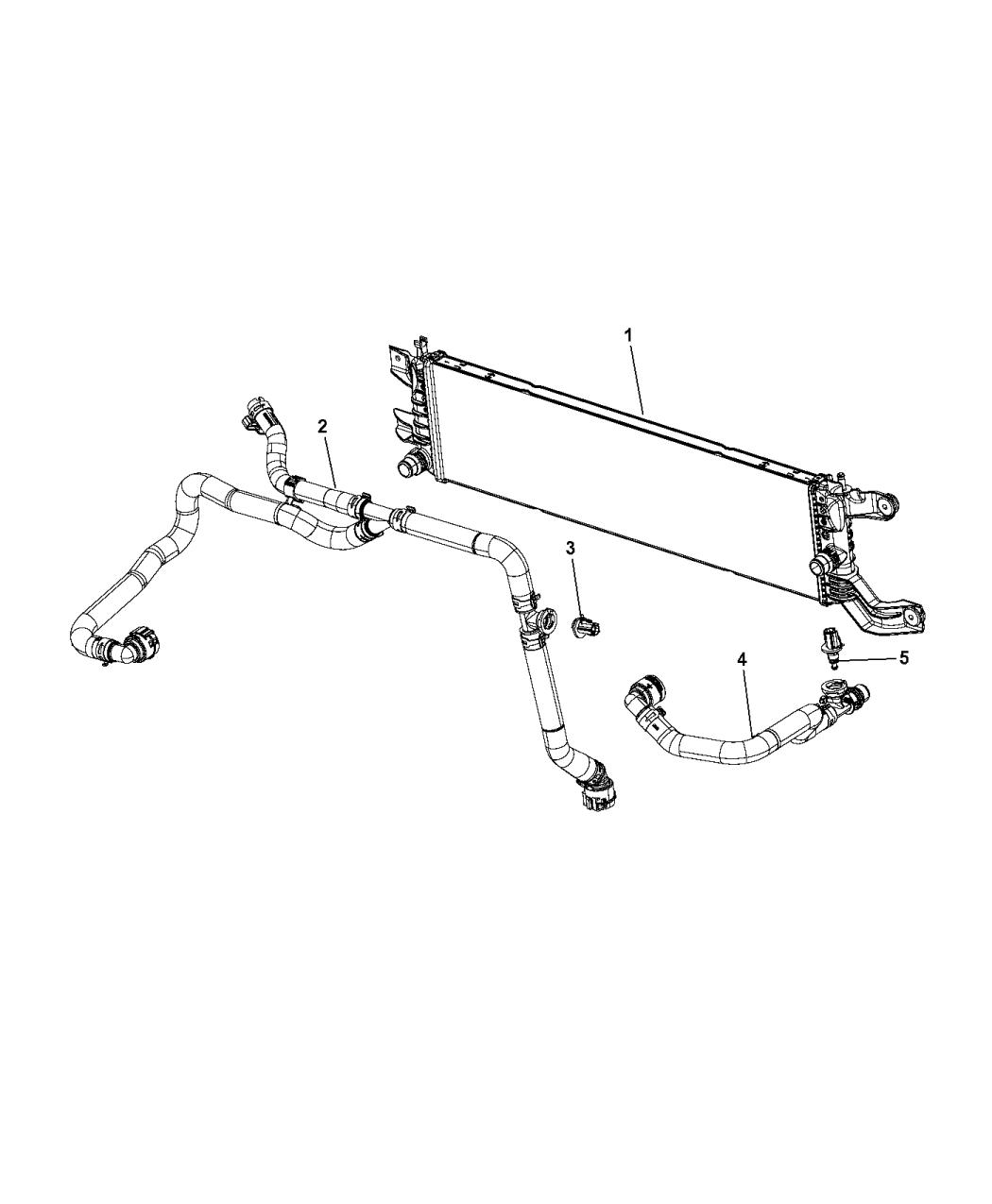 Chrysler Pacifica Battery Radiator