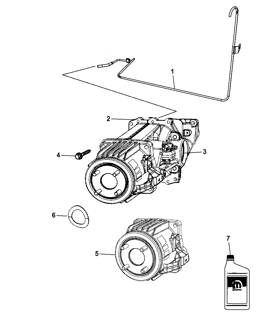 Jeep Patriot Rear Axle Assembly