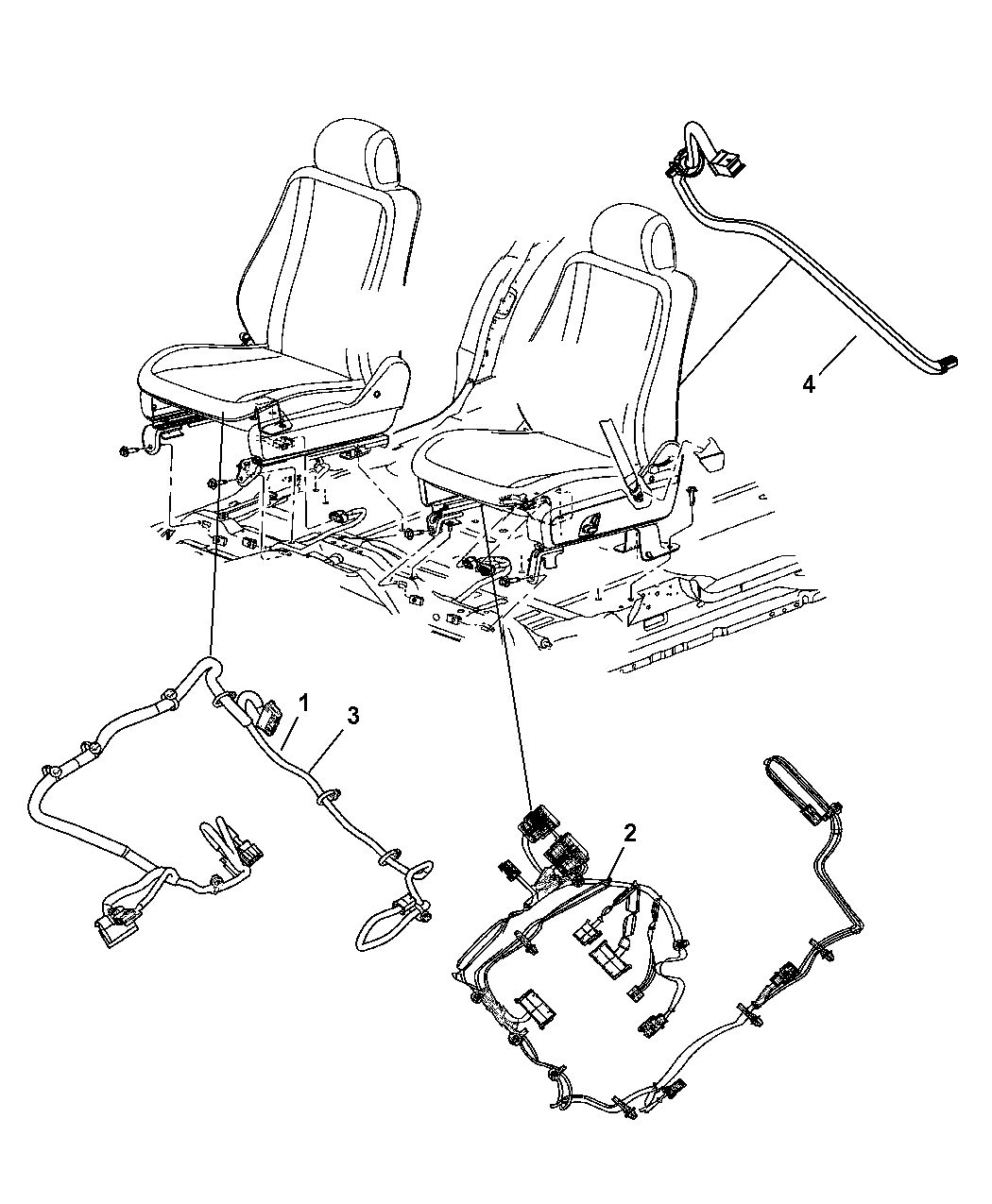 Chrysler Aspen Wiring