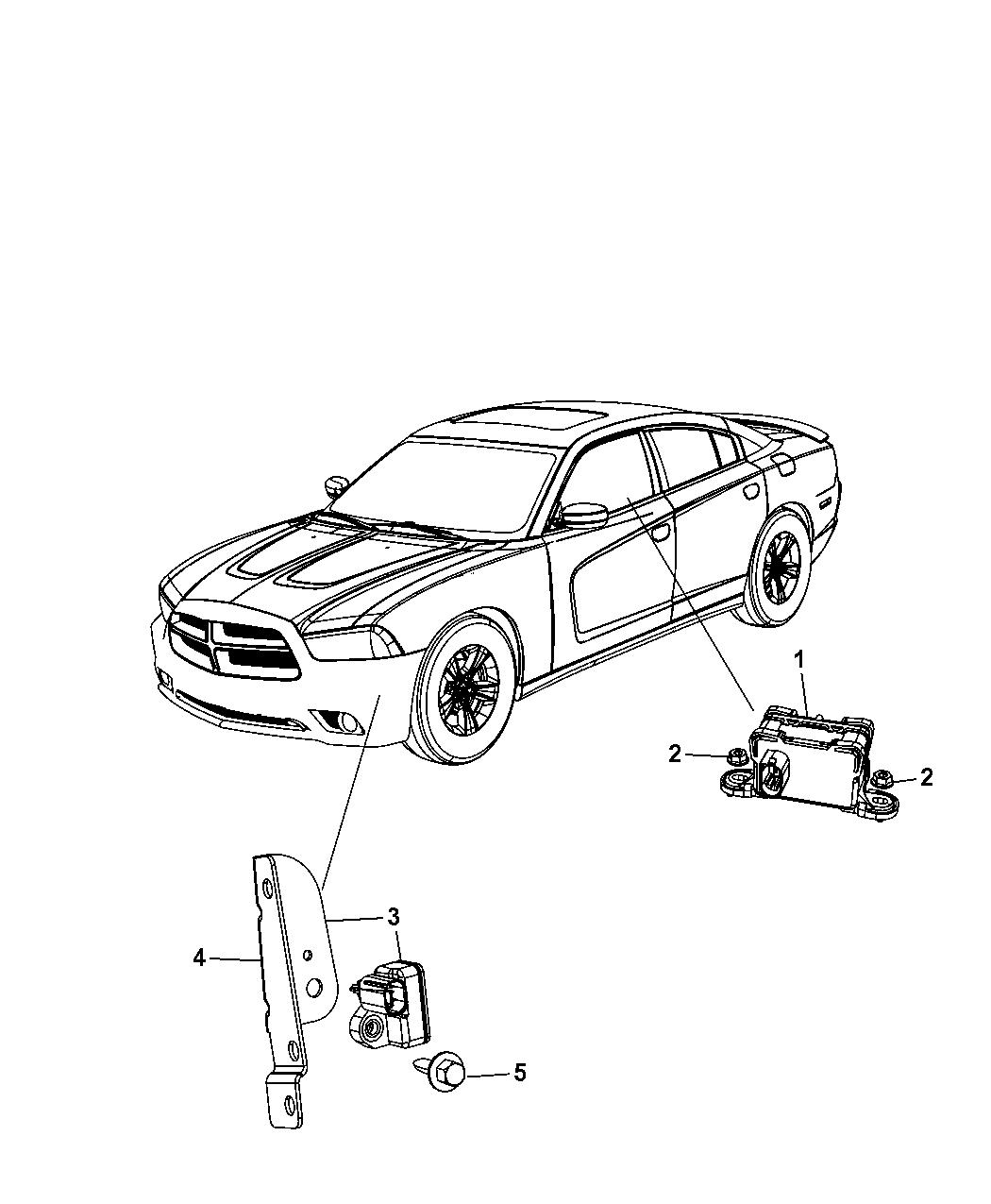 Dodge Charger Sensors