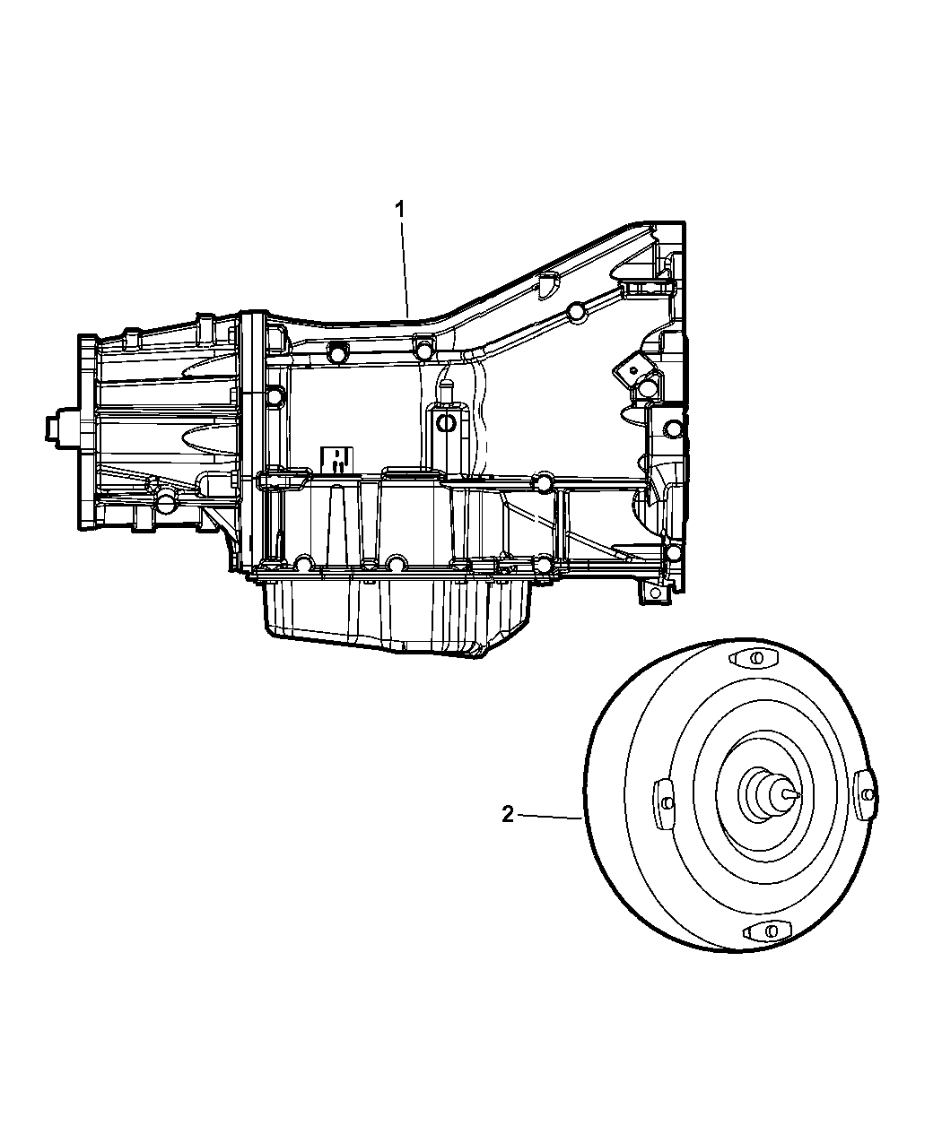 Jeep Wrangler Transmission Assembly Of Automatic