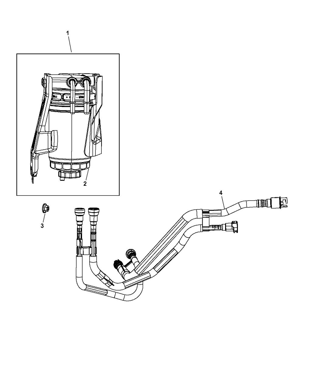 Jeep Patriot Fuel Filter
