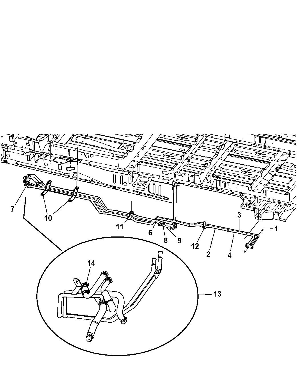 Dodge Grand Caravan Plumbing