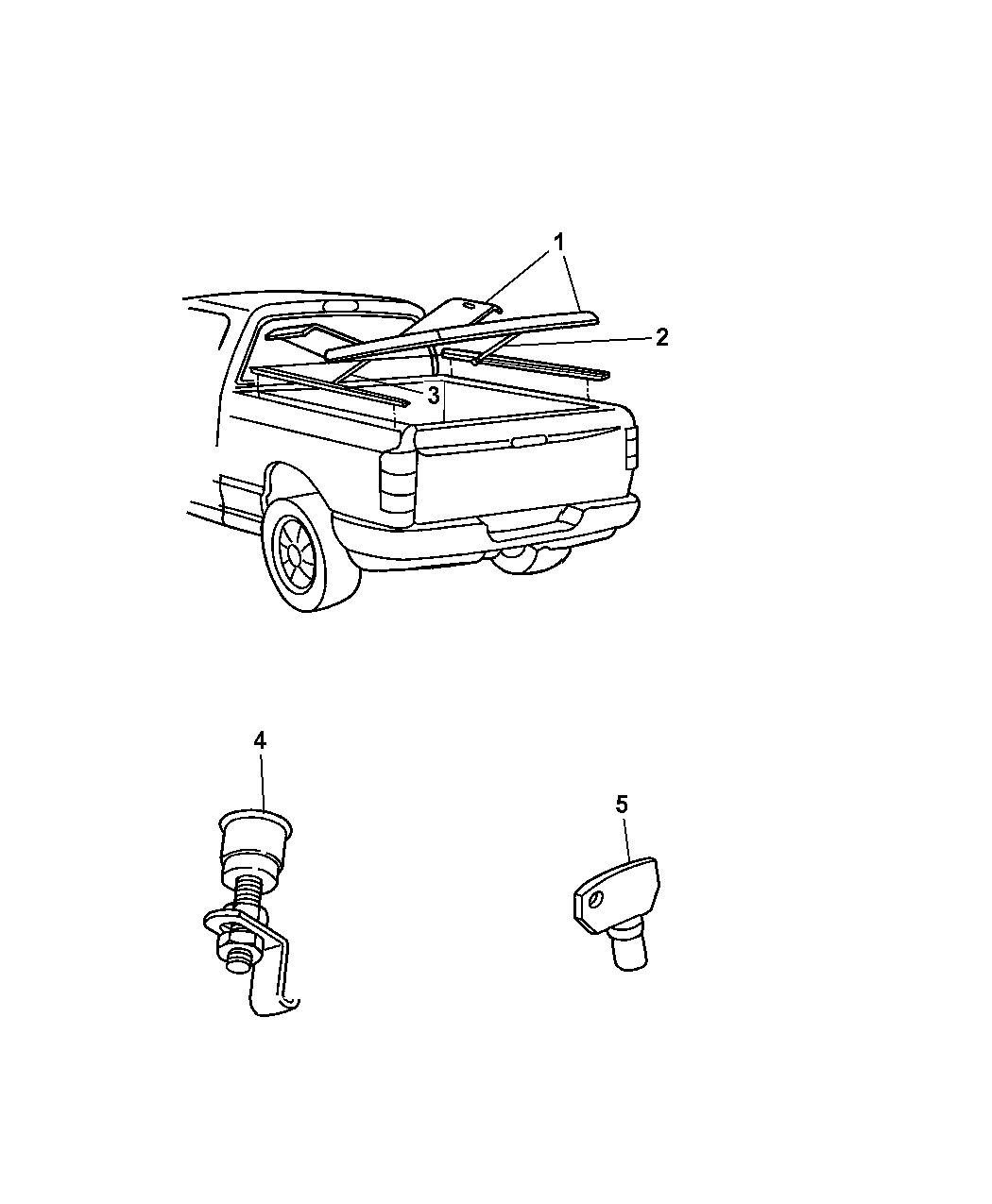 Dodge Ram Cover Kit