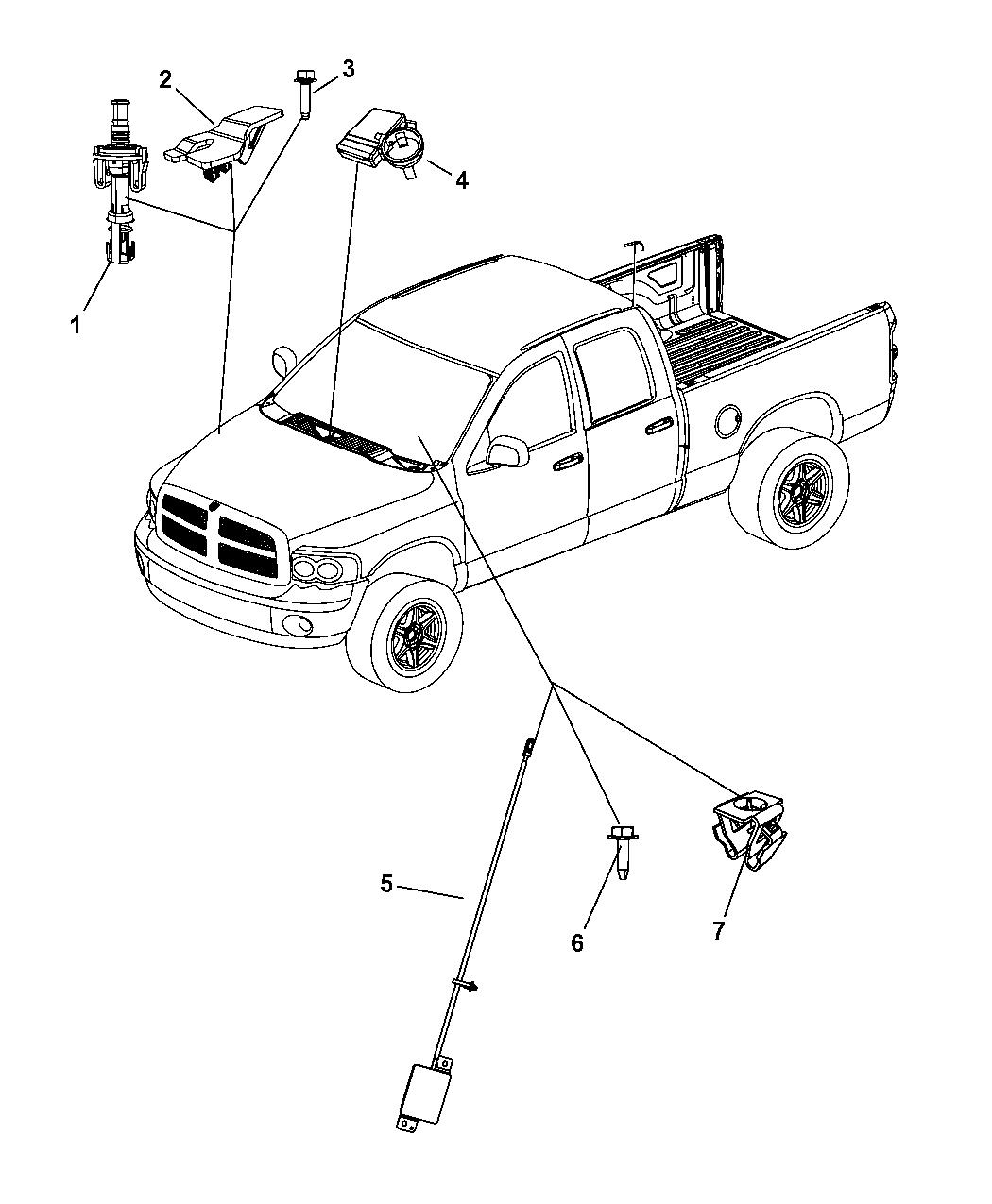Dodge Ram Starter Remote Start