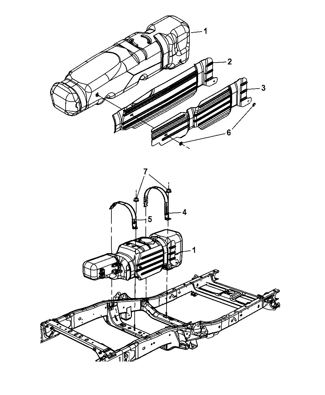 Dodge Ram Fuel Tank Amp Related