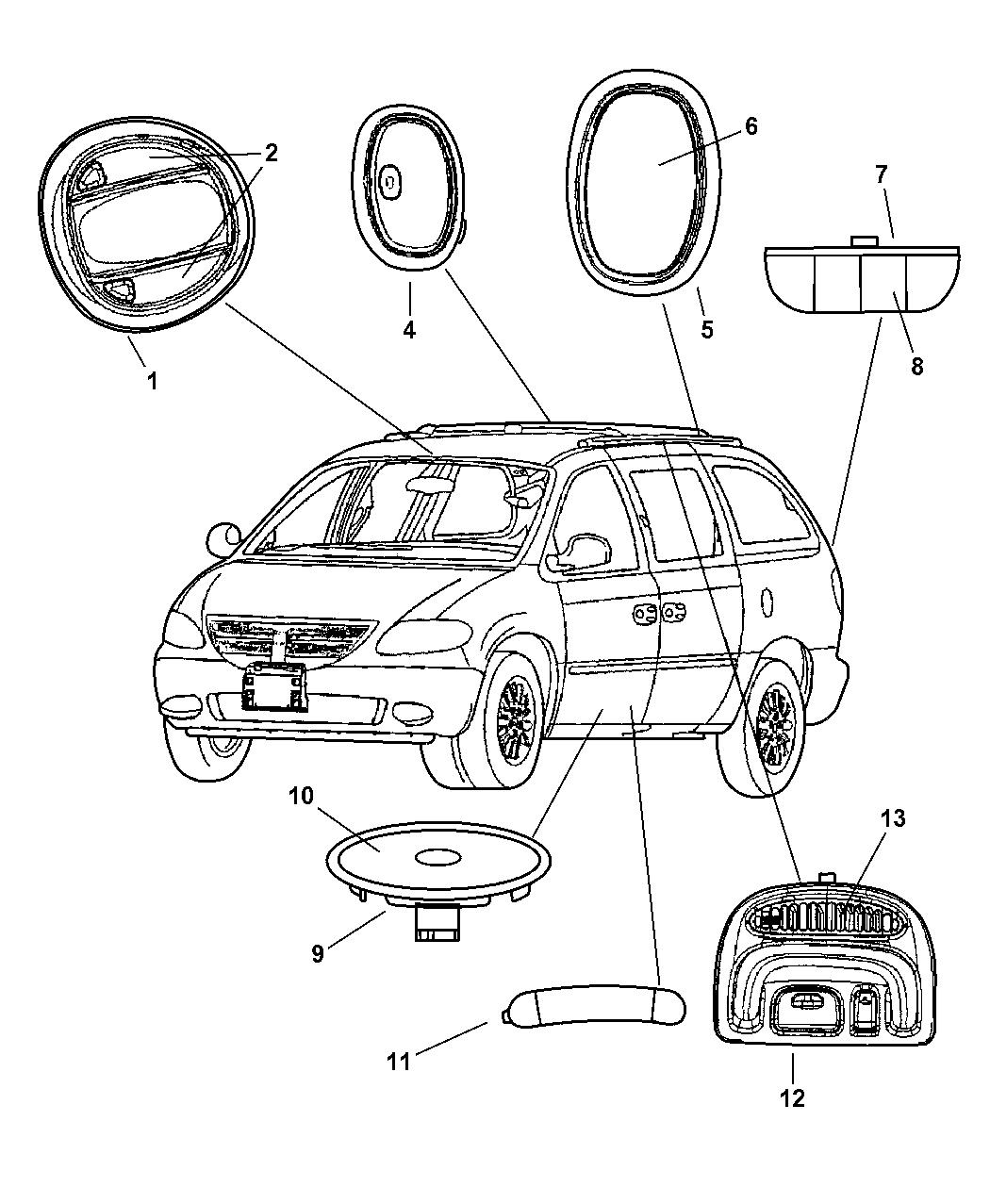 Dodge Grand Caravan Lamps