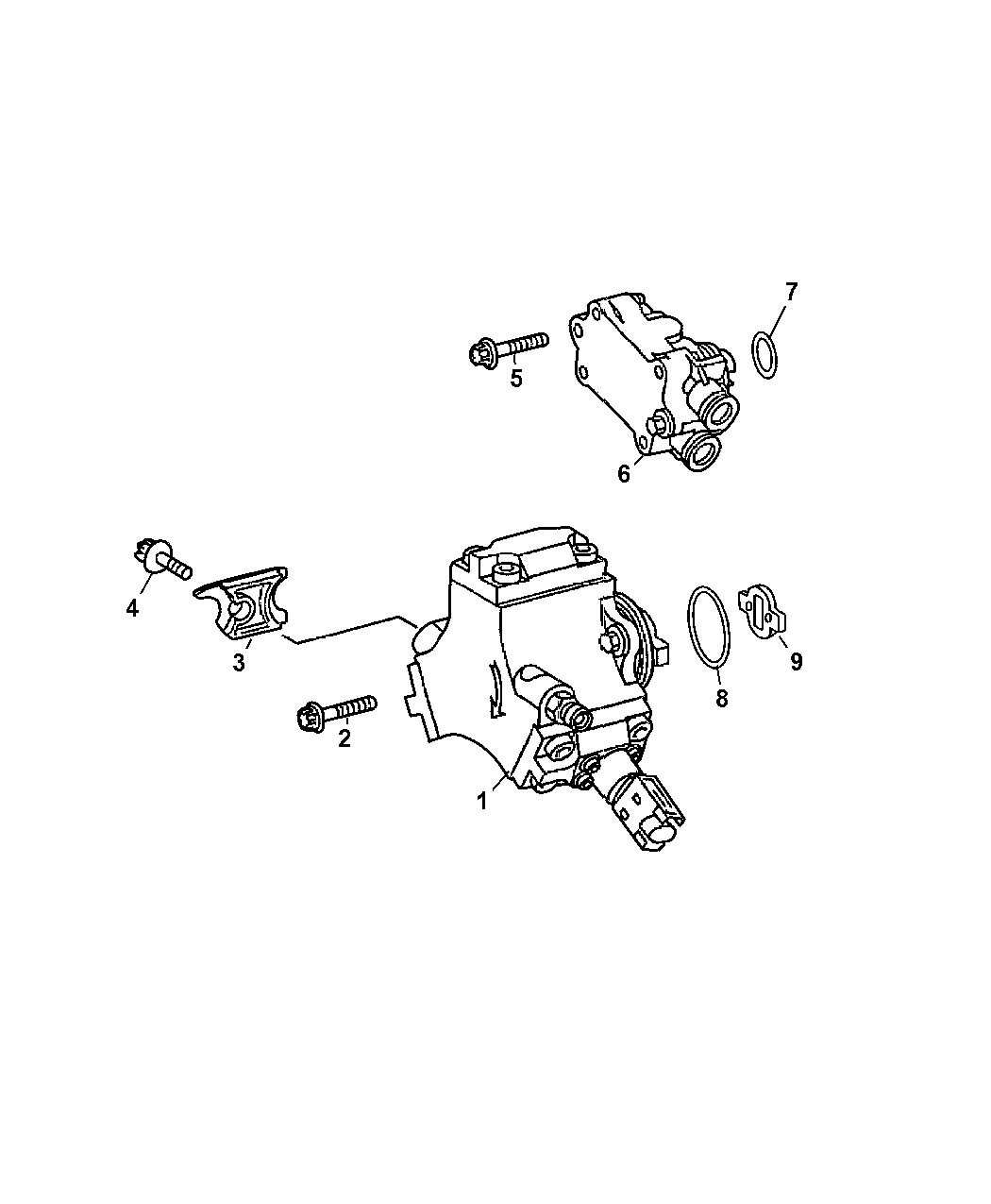 Dodge Sprinter Fuel Injection Pump