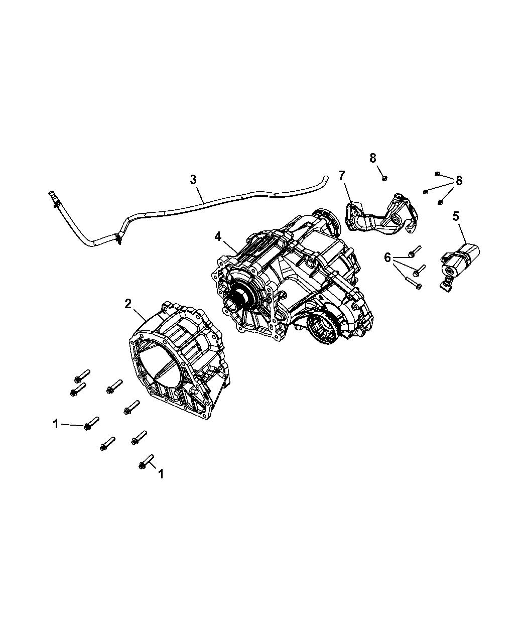 Dodge Durango Transfer Case Mounting Of Manual