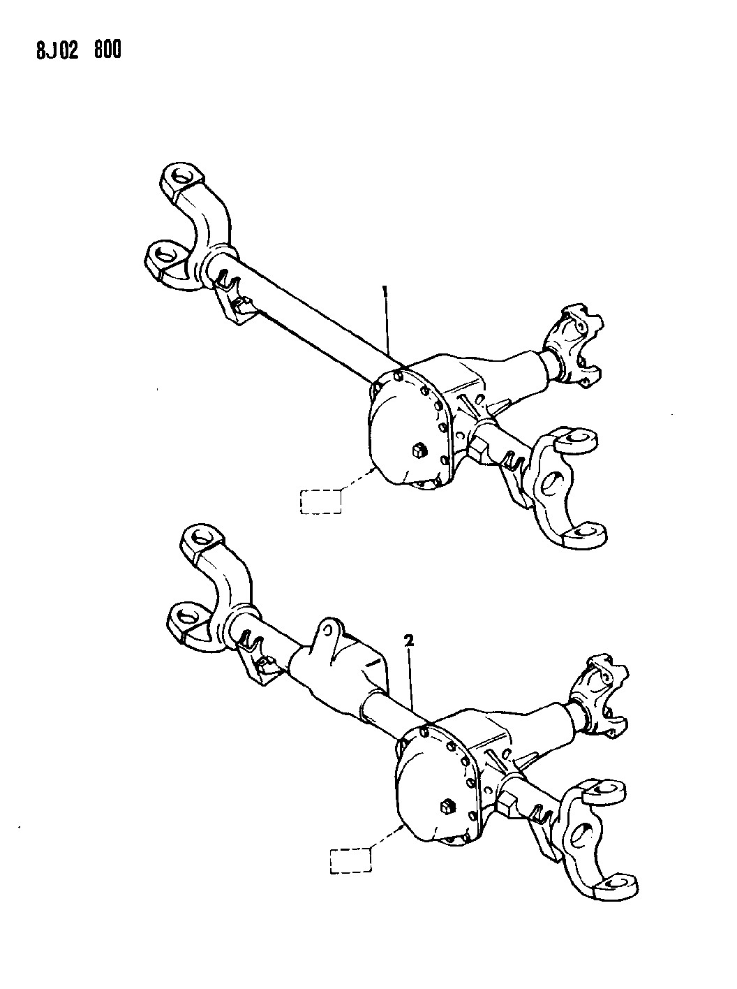 Jeep Wrangler Axle Assembly Front
