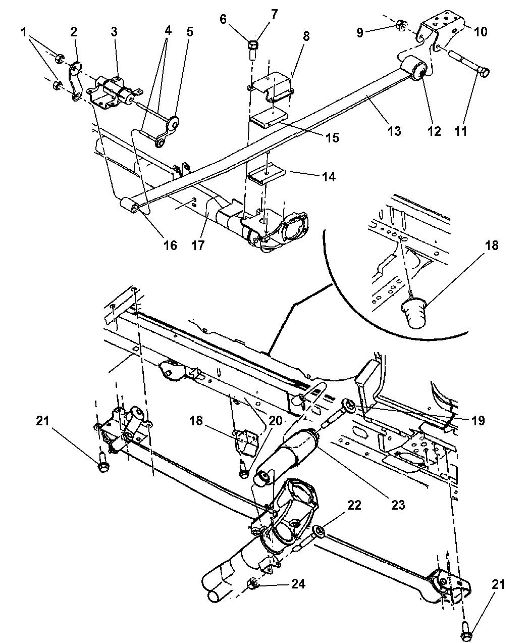 Dodge Grand Caravan Suspension
