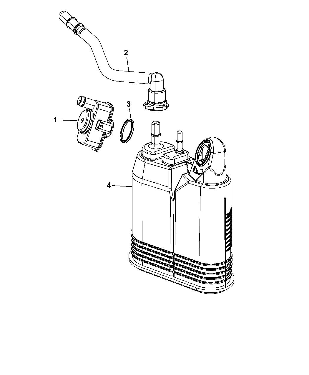 Dodge Durango Vapor Canister Amp Leak Detection Pump