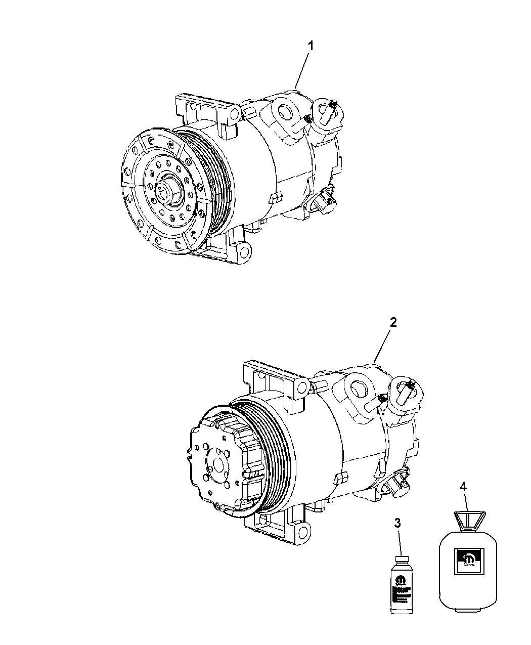 Dodge Caliber A C Compressor