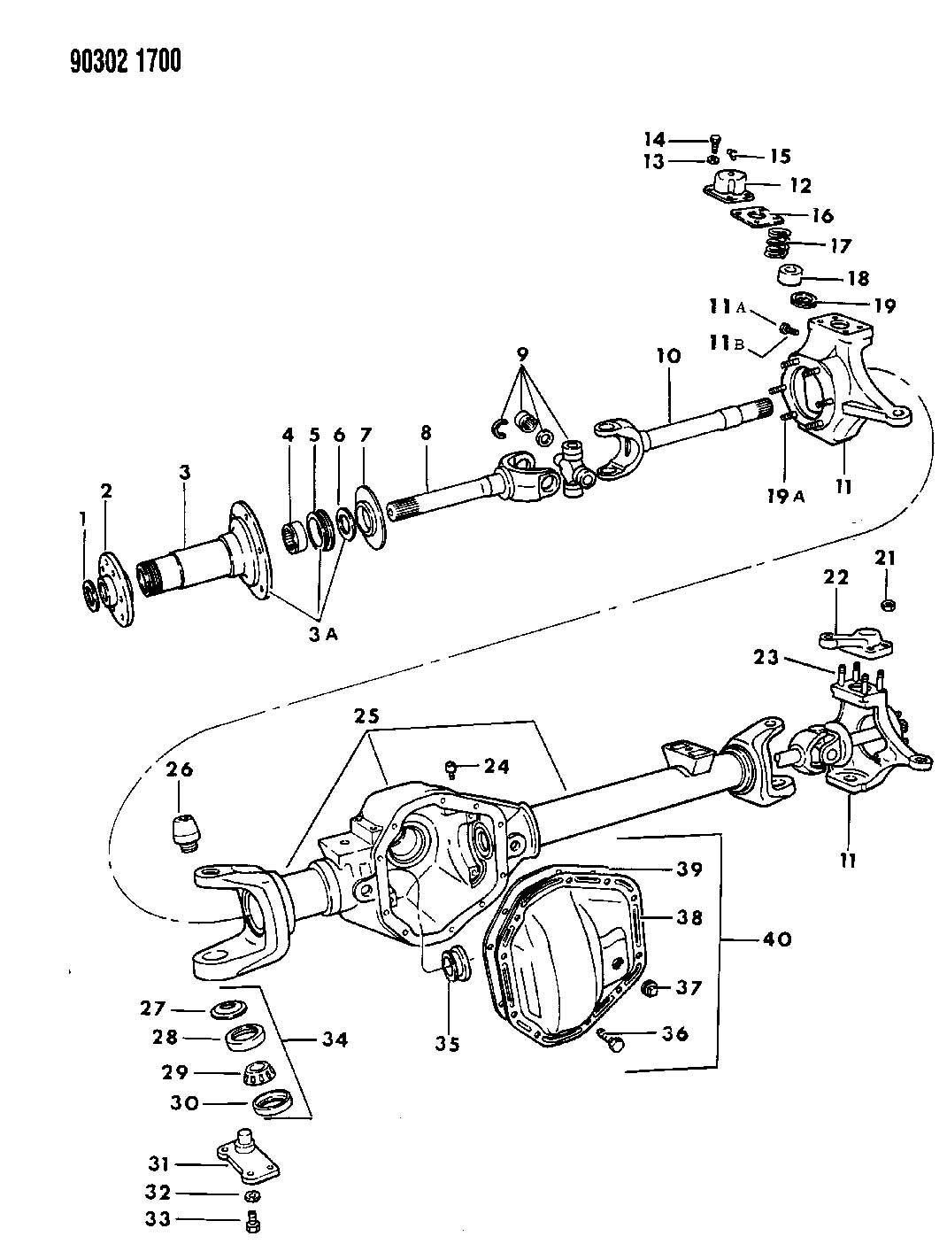 Dana 60 King Pin Diagram Wiring And Engine Diagram