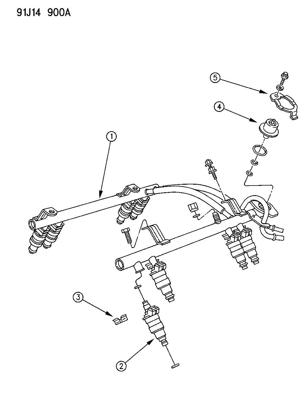 Jeep Comanche Regulator Fuel Pressure Engine Axle