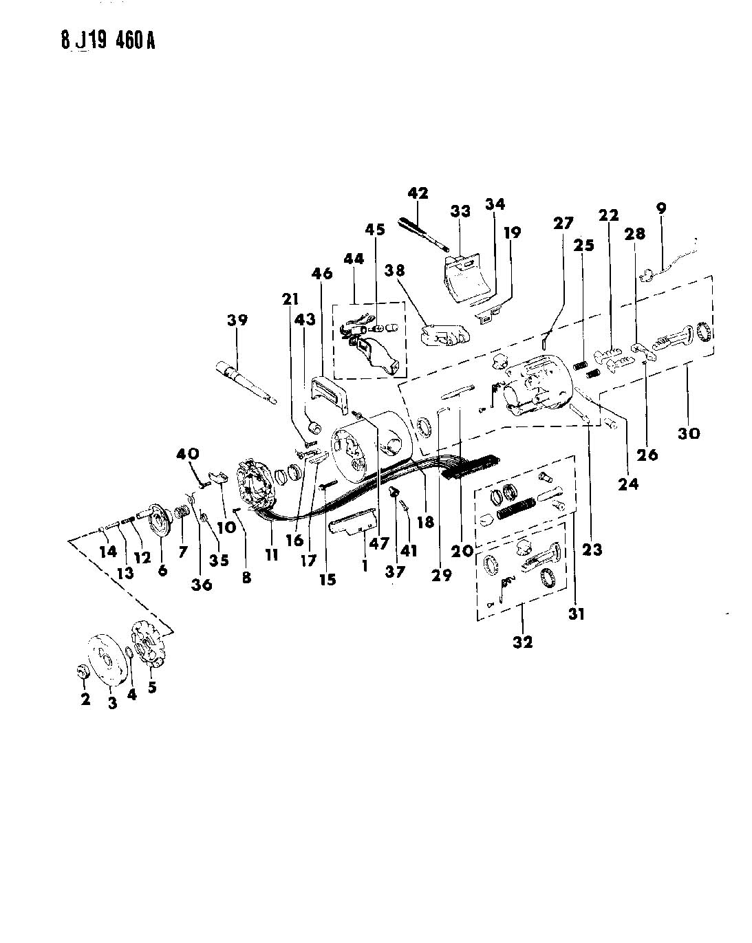 Jeep Wrangler Lever Directional Signal Lever Turn