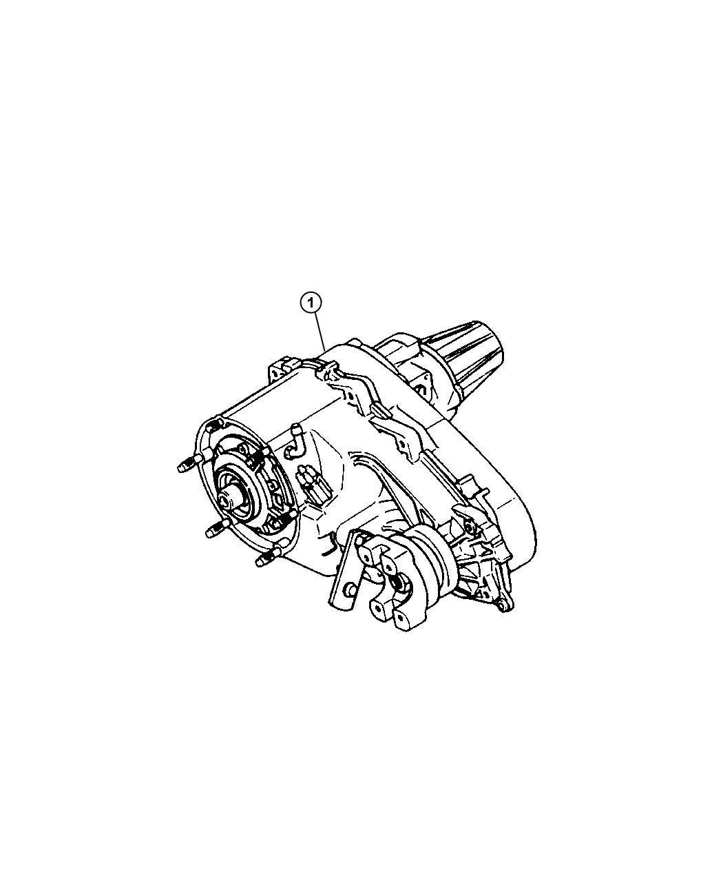 Jeep Grand Cherokee T Case Np242 Transfer Trac