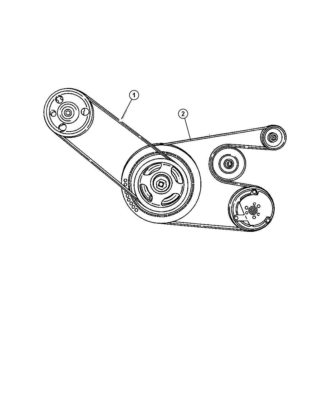 Chrysler Pt Cruiser Belt Power Steering Rack
