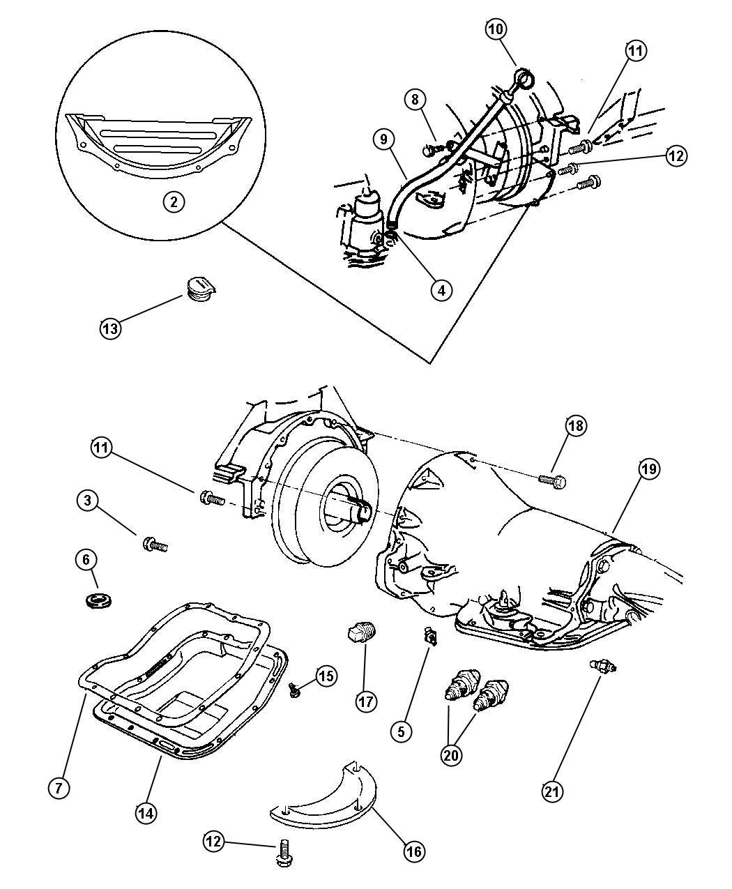 Dodge Indicator Transmission Fluid Level Trans Oil