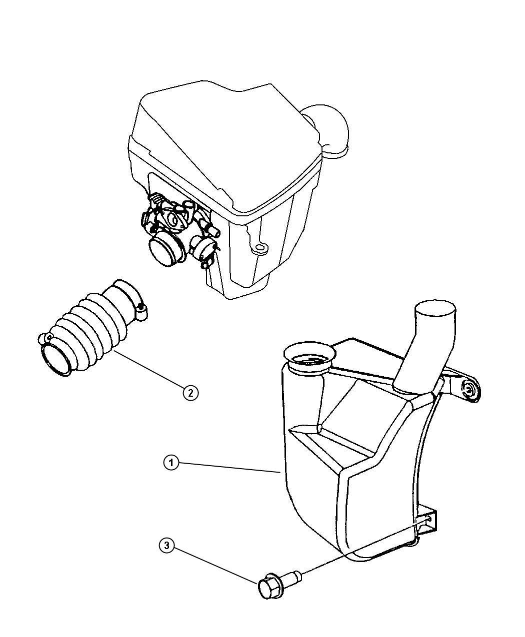 Dodge Neon Resonator Fresh Air Without Srt Design