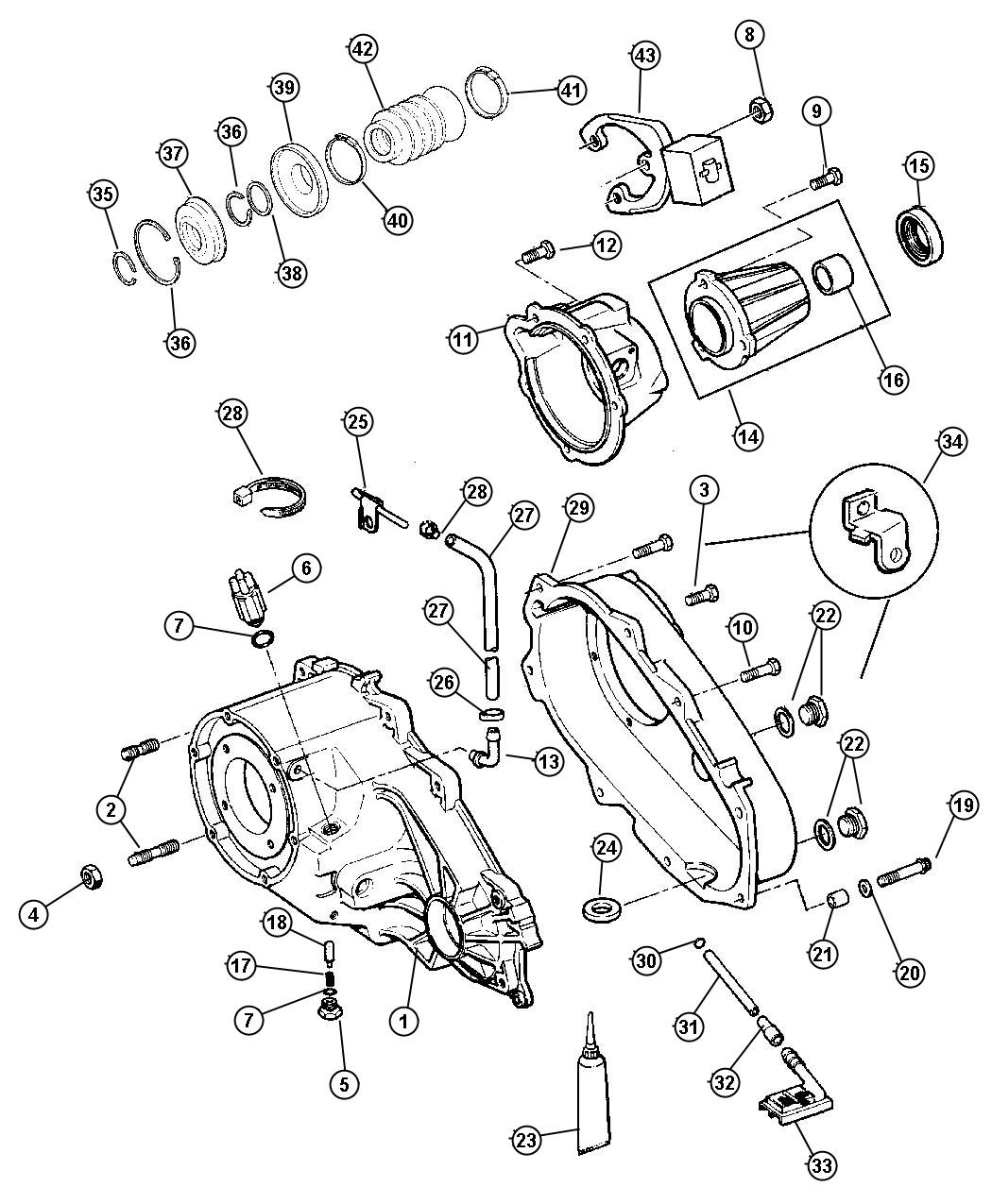 Chrysler Sebring Bracket Battery Wiring Tube Vent