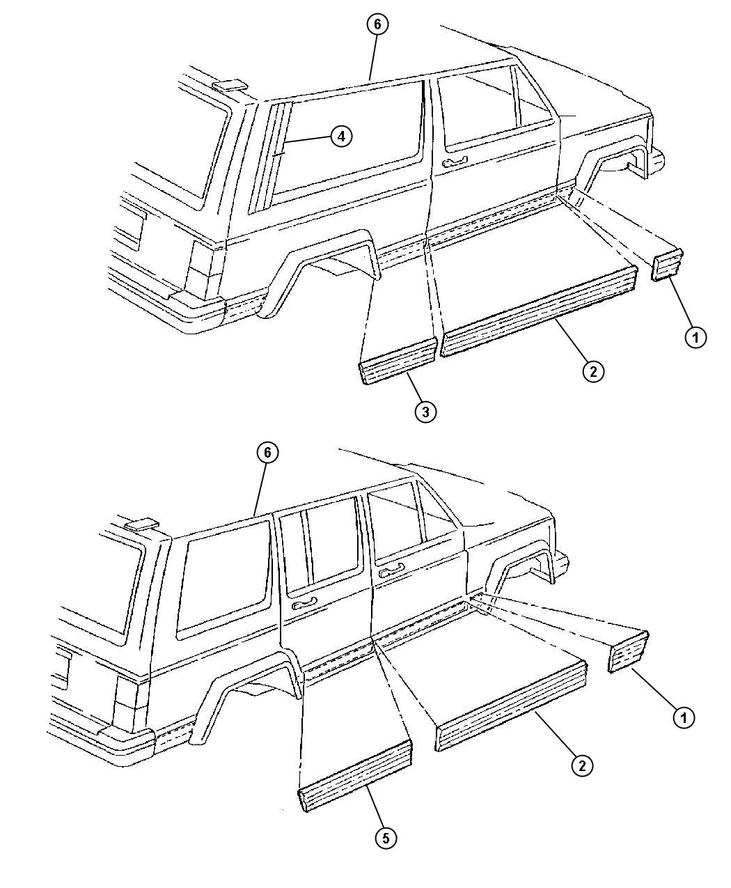 Ram Truck Body Molding