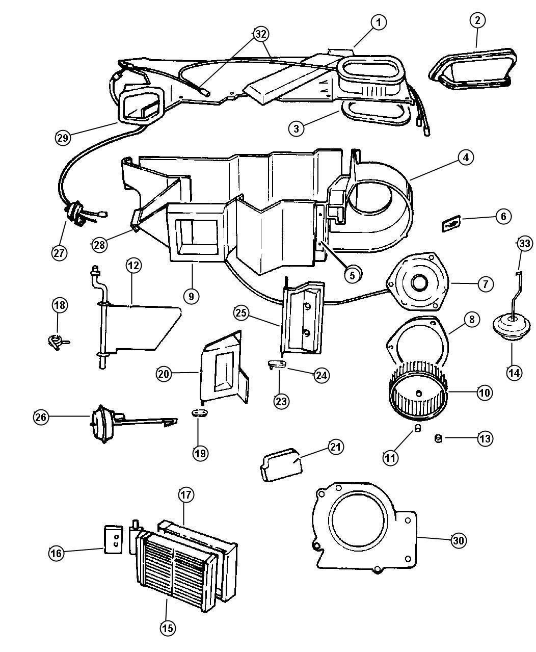 Dodge Durango Core Heater Air Vehicles Conditioning