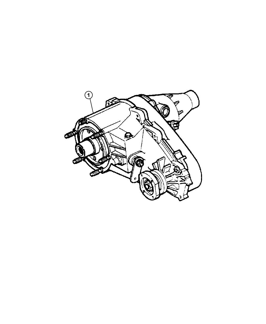 Dodge Neon Transfer Case Np231 Fly Shift