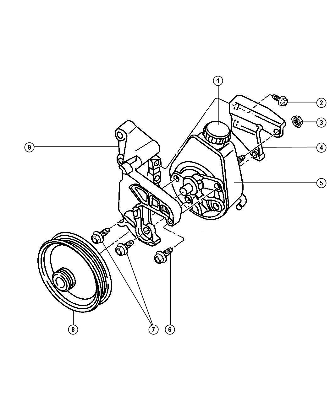 Dodge Ram Nut Hex Flange M10x1 5 Mounting