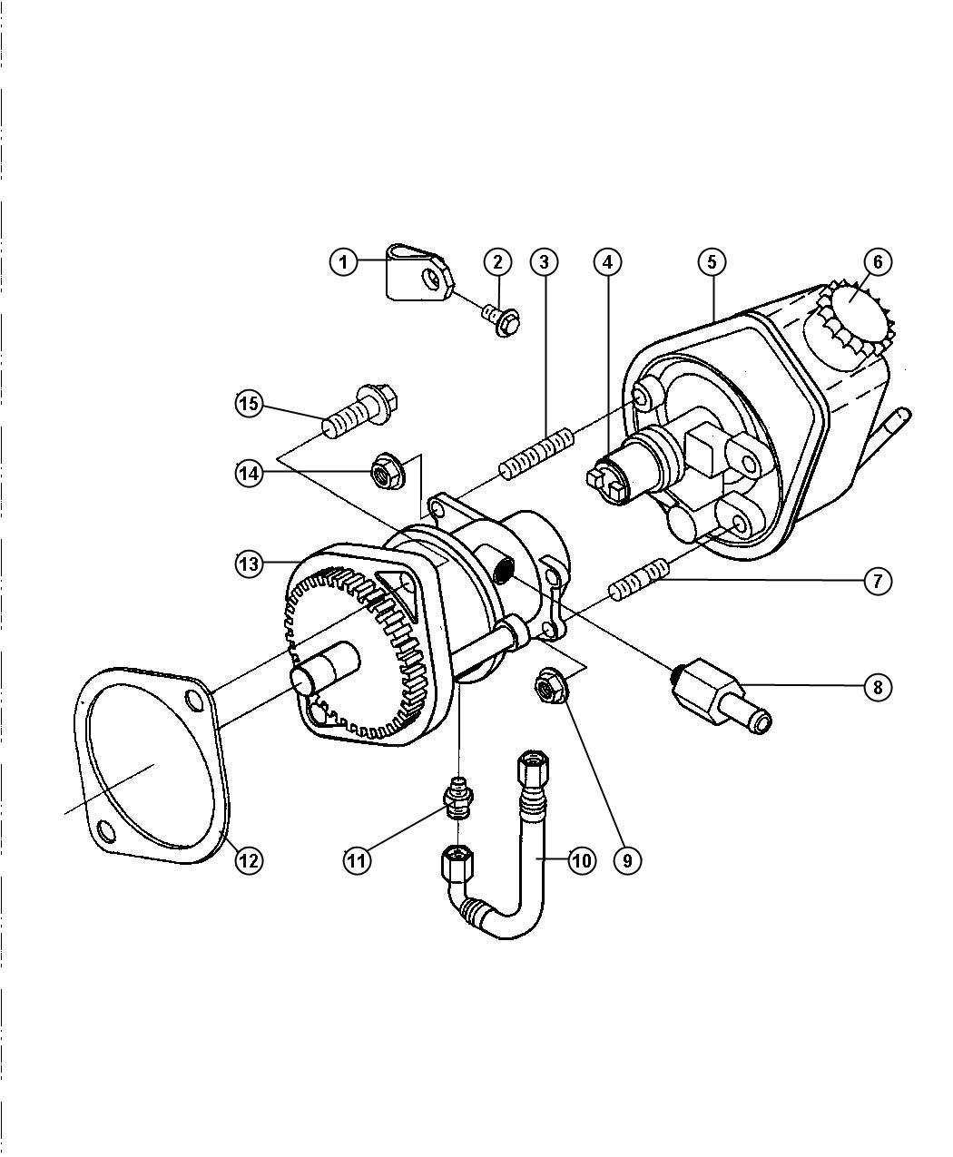 Dodge Ram Hose Brake Vacuum Etb
