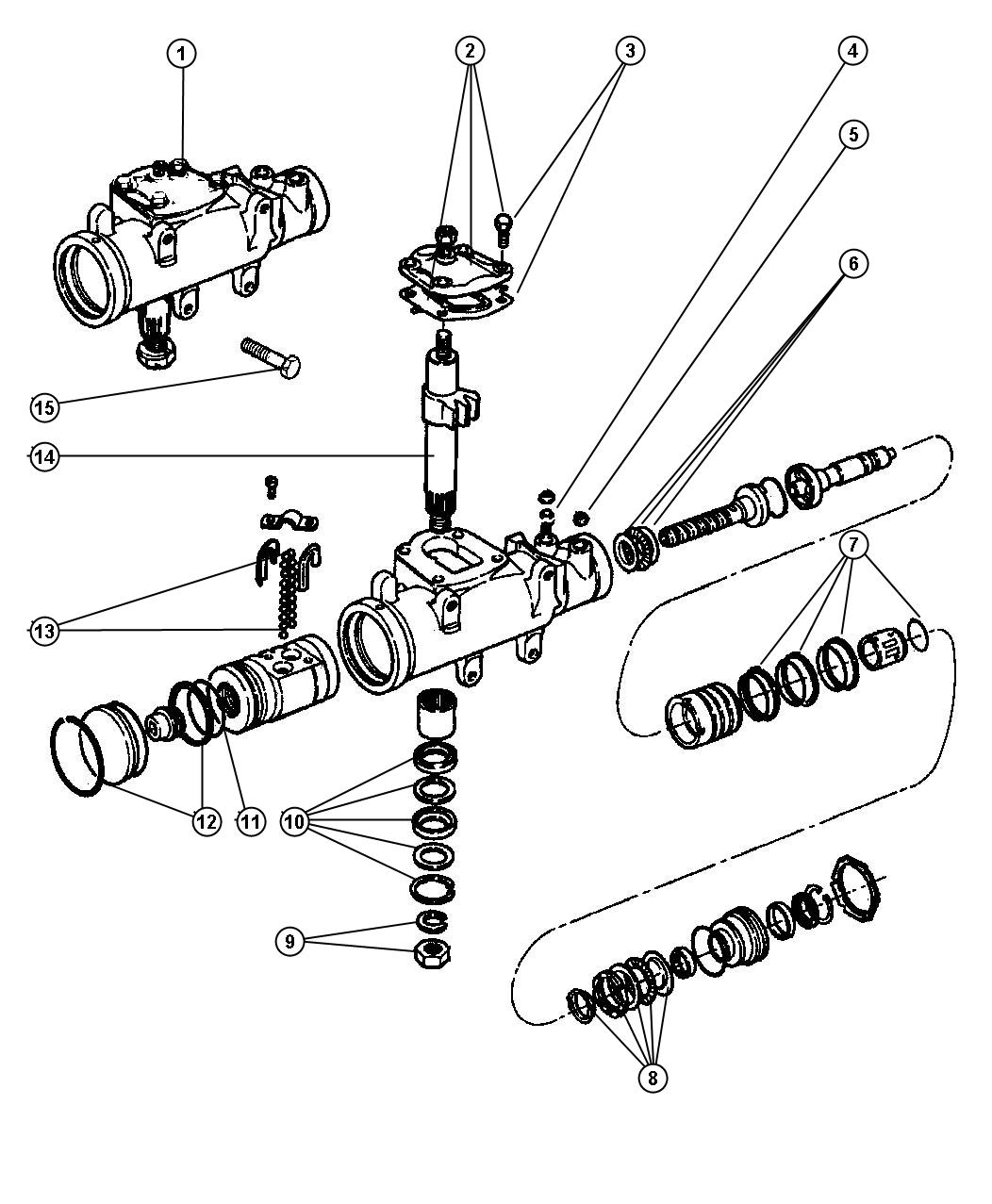 Dodge Ram Gear Power Steering Gvw Rating