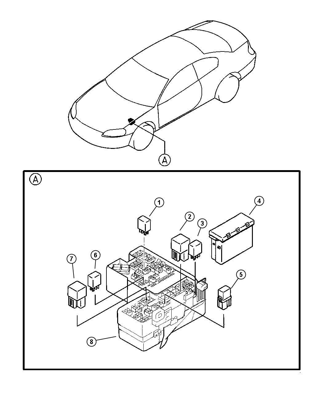 Dodge Ram Relay Trans Fail Safe Control Engine