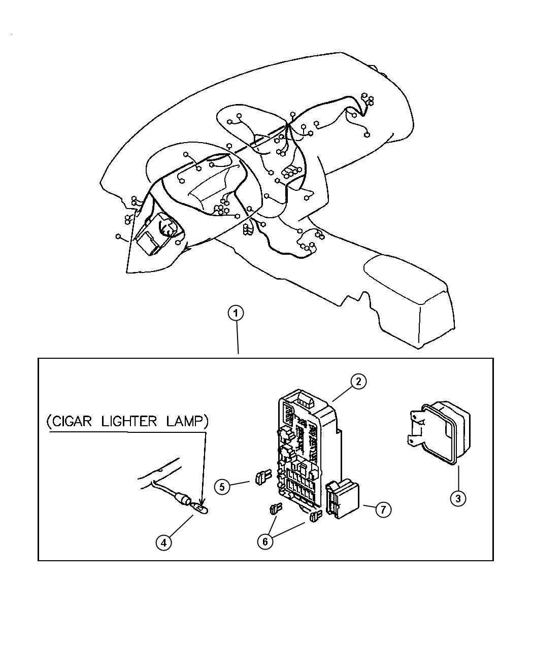 Dodge Caliber Fuse Blade Type 30 Amp Green Wiring