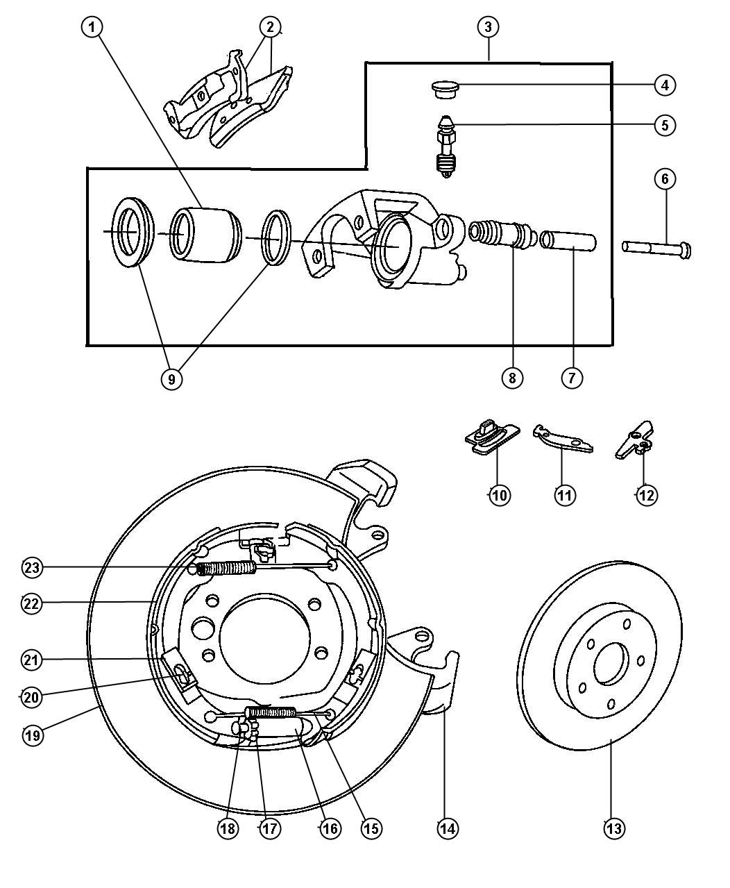 Jeep Grand Cherokee Rotor Brake Rotor Rear Disc
