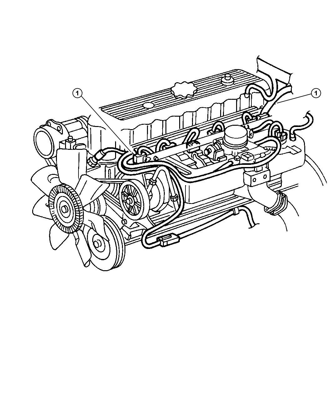 Jeep Grand Cherokee Engine Wiring Harnes