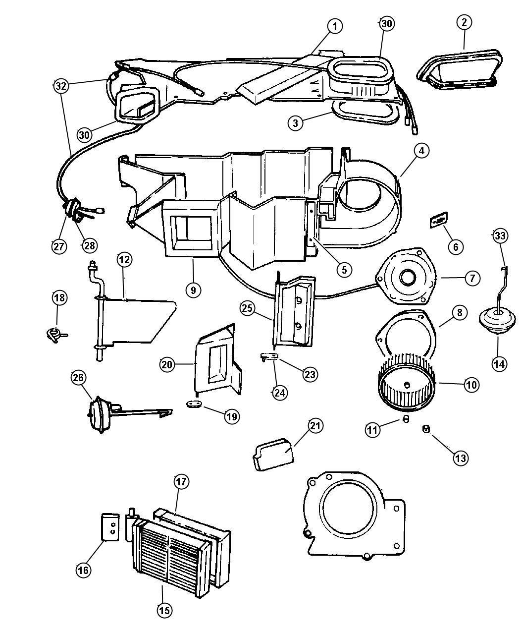 Dodge Durango Resistor Blower Motor