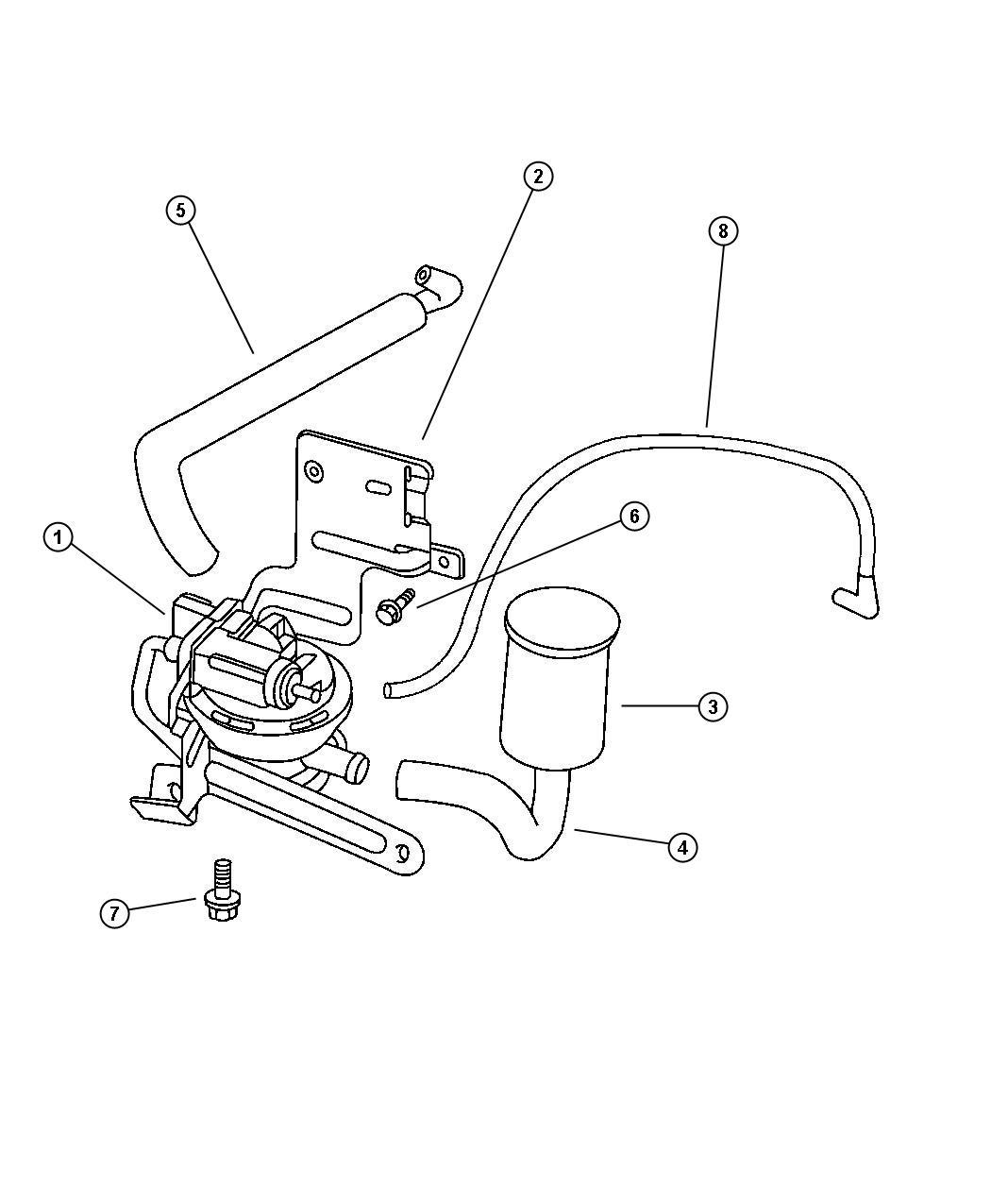 Jeep Cherokee Pump Leak Detection Emissions