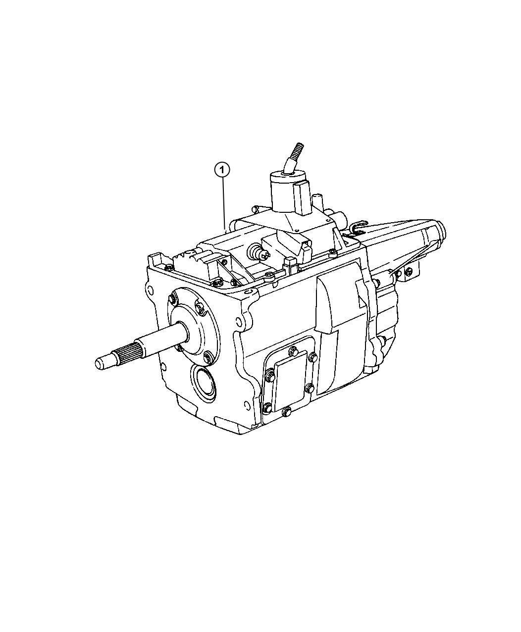 Dodge Grand Caravan Manual Transmission Schematic