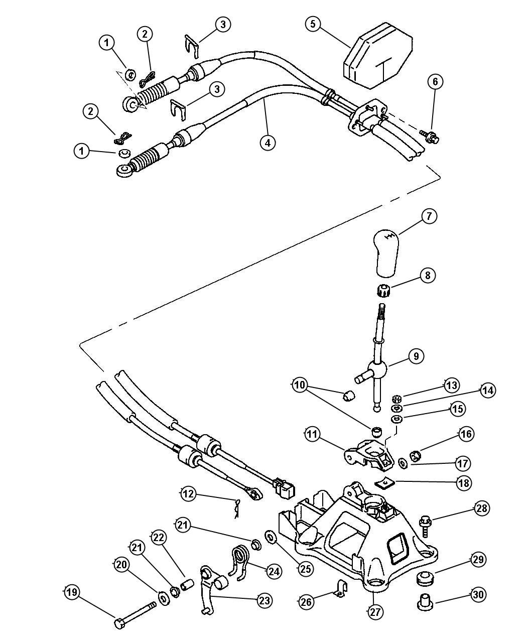 Dodge Viper Spacer Gearshift Control Engine Service
