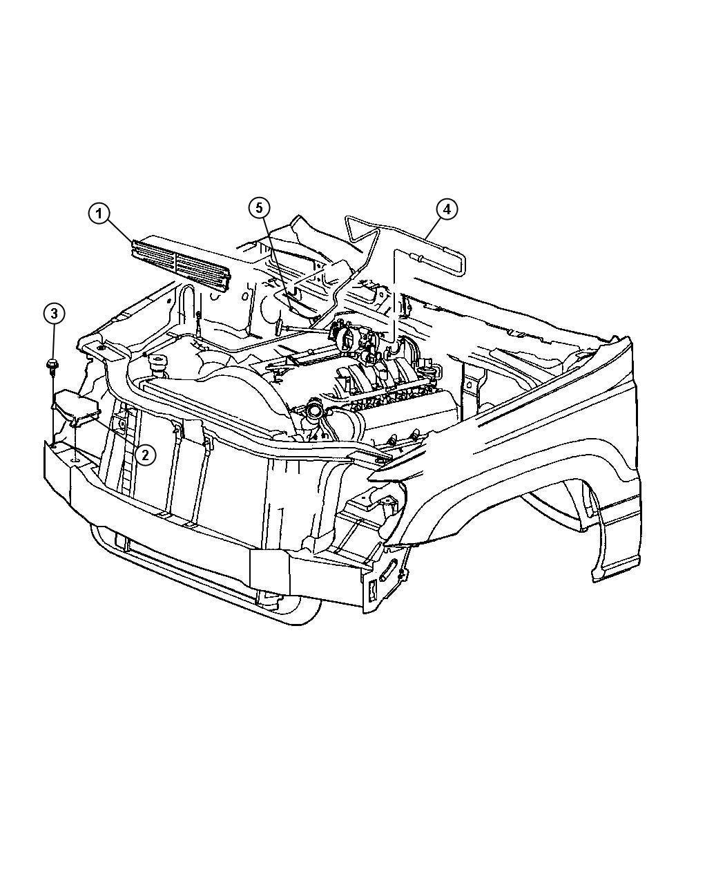 Jeep Grand Cherokee Reservoir Vacuum Steering