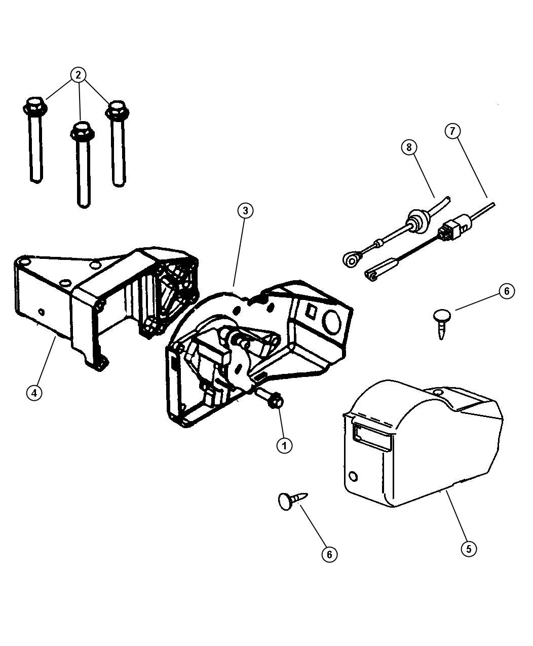 Jeep Wrangler Cable Throttle Valve