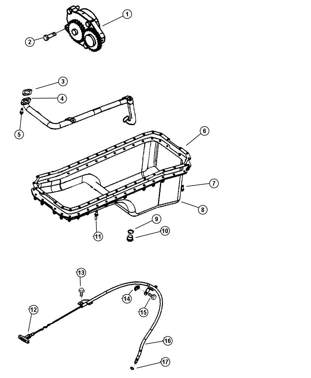 Dodge Ram Indicator Engine Oil Level