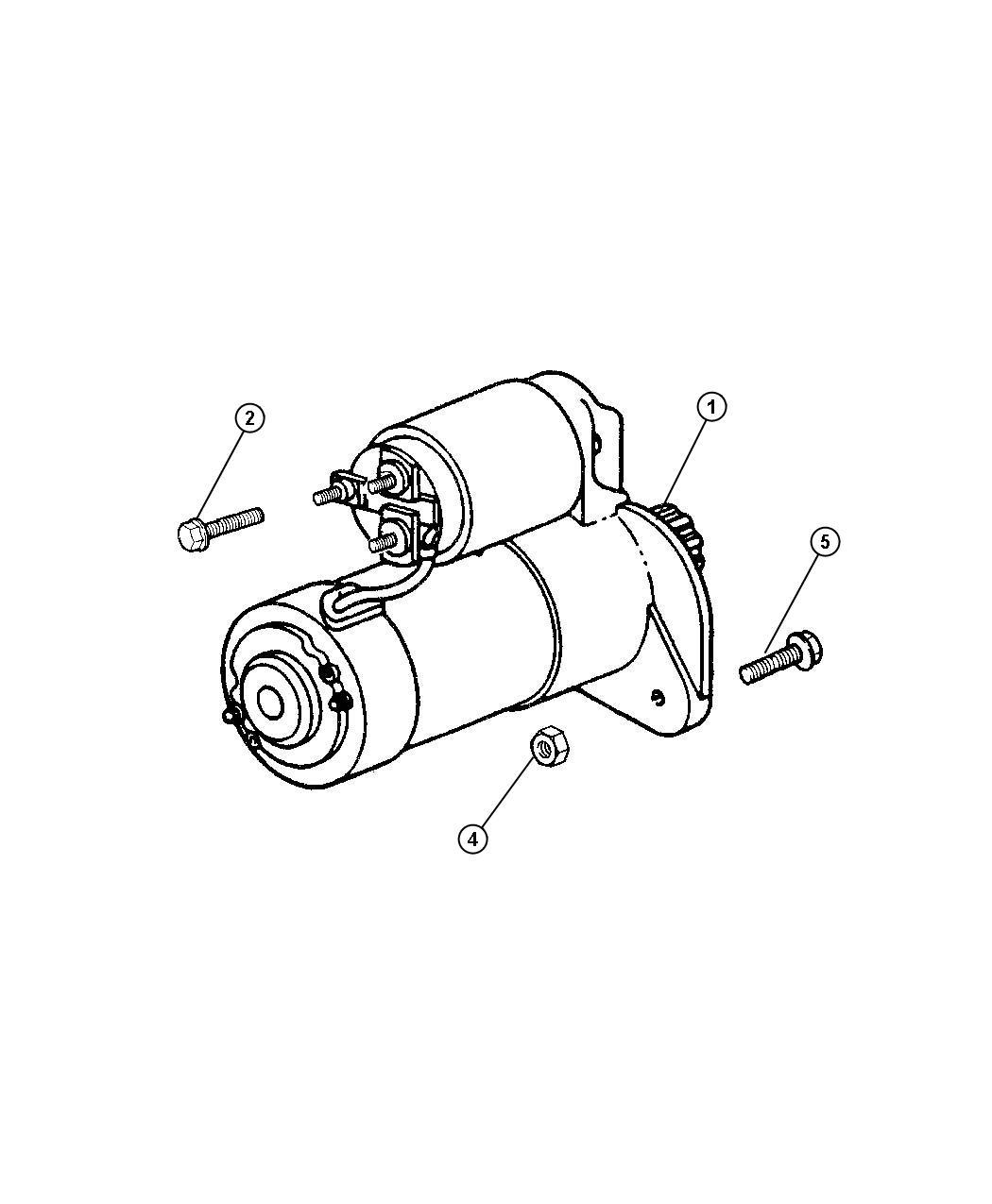 Dodge Viper Starter Engine Starters Mopar Electrical