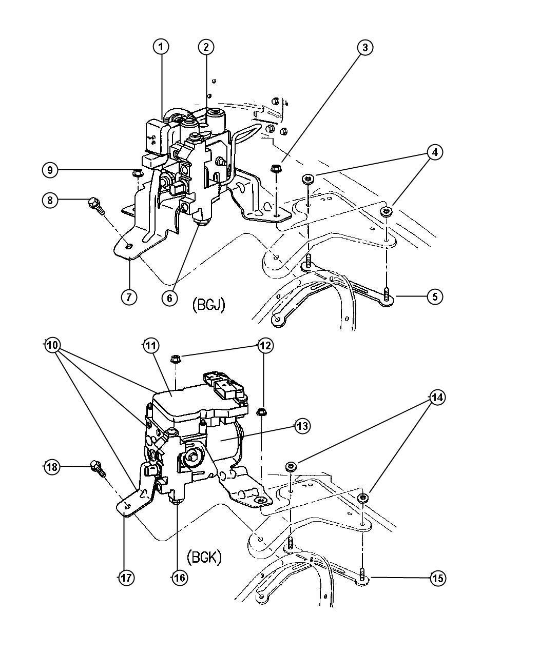 Dodge Ram Valve Proportioning Brakes