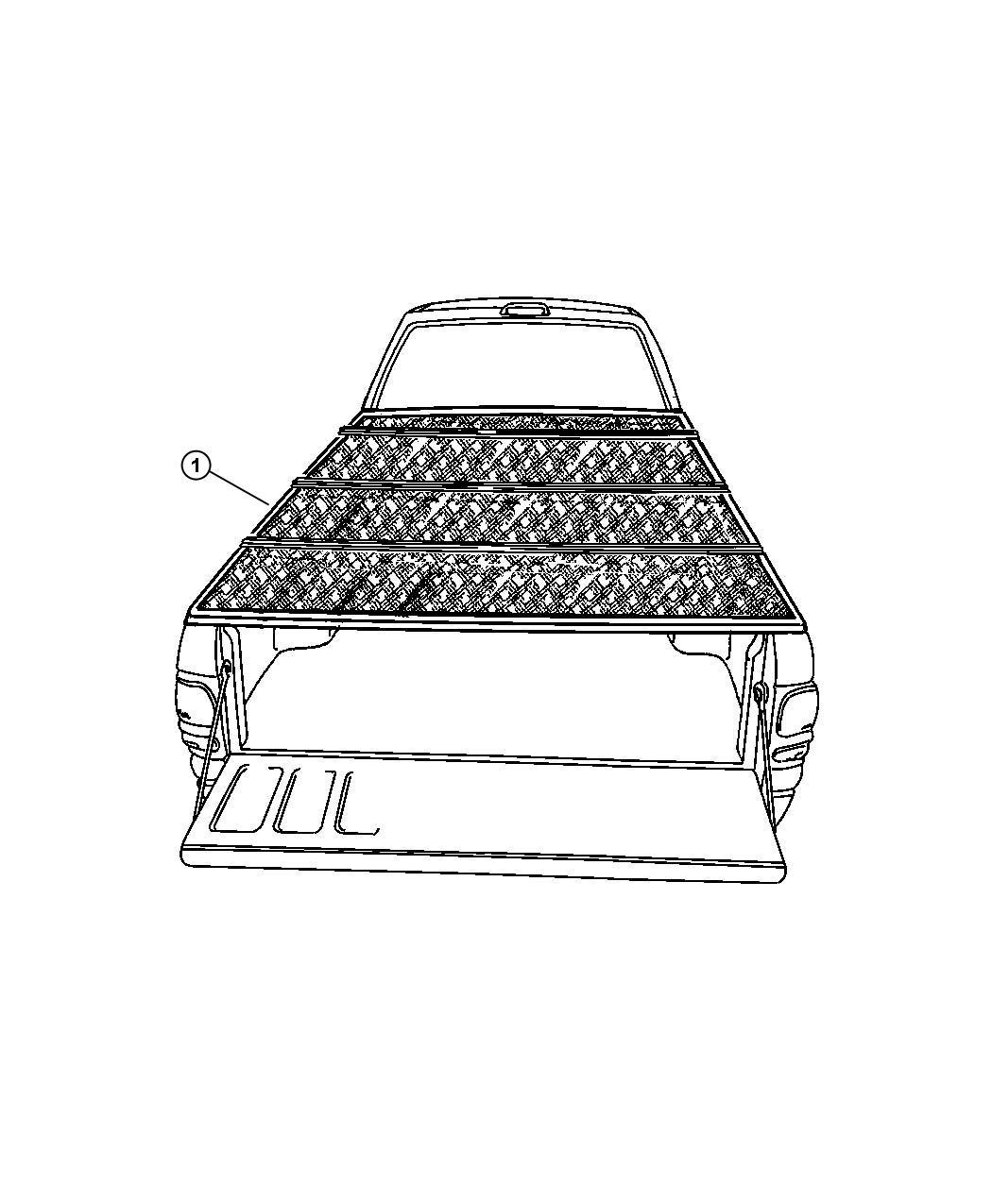 Jeep Grand Cherokee Cover Kit Tonneau Folding 8