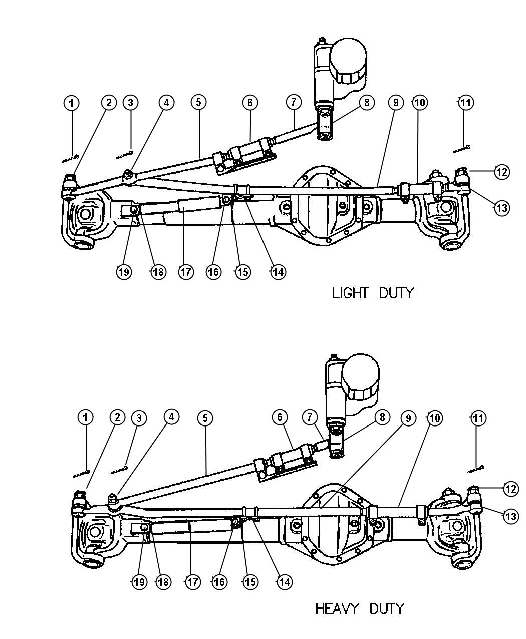Dodge Socket Drag Link Outer Z3b Z6a Z7a Z7b