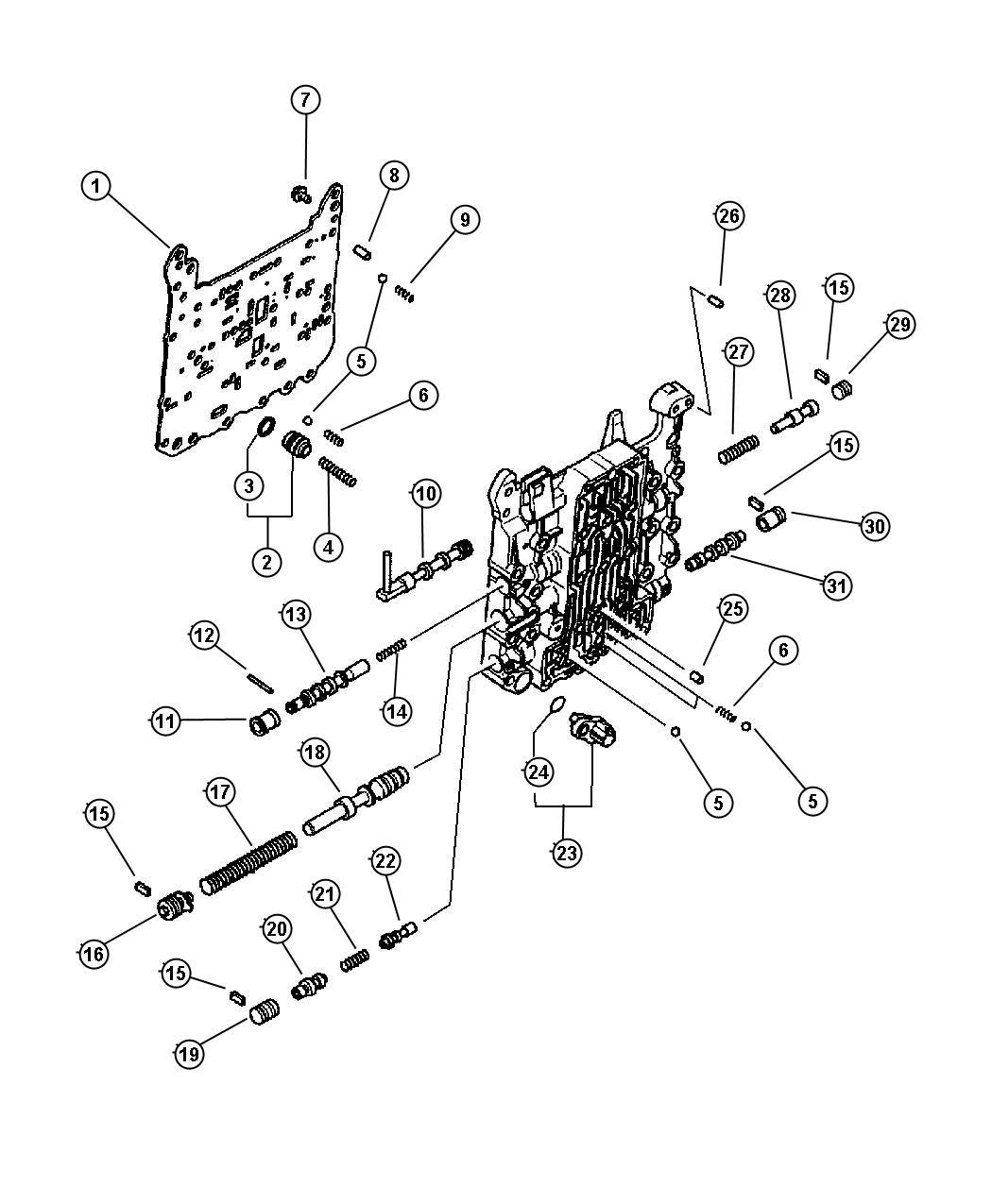 Chrysler Pacifica Seal Body Steering Valve