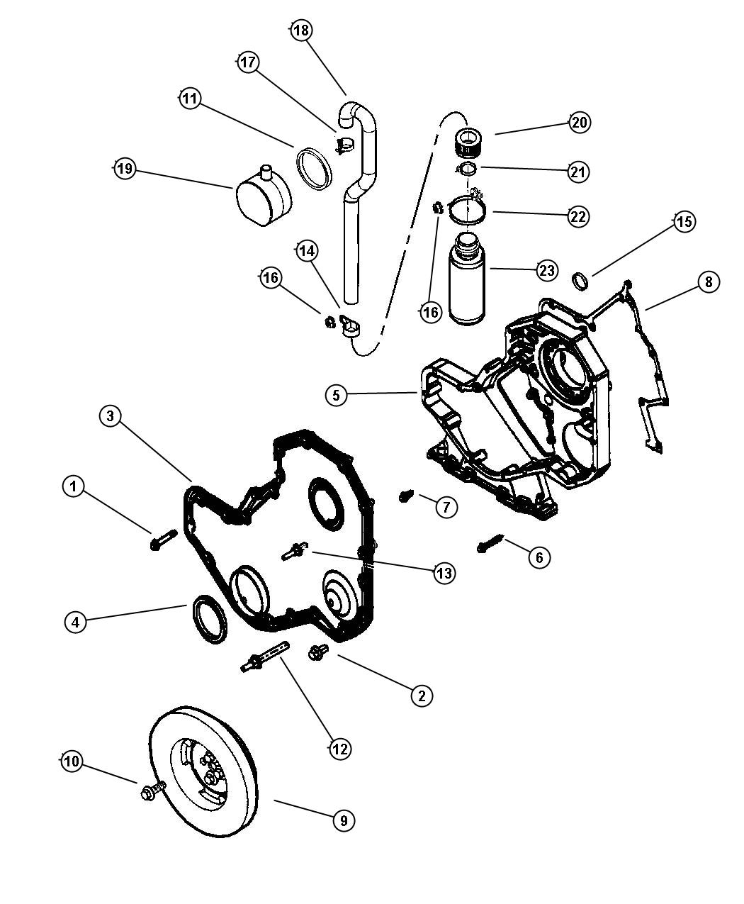 05018185aa on jeep 4 7 engine oil fill diagram