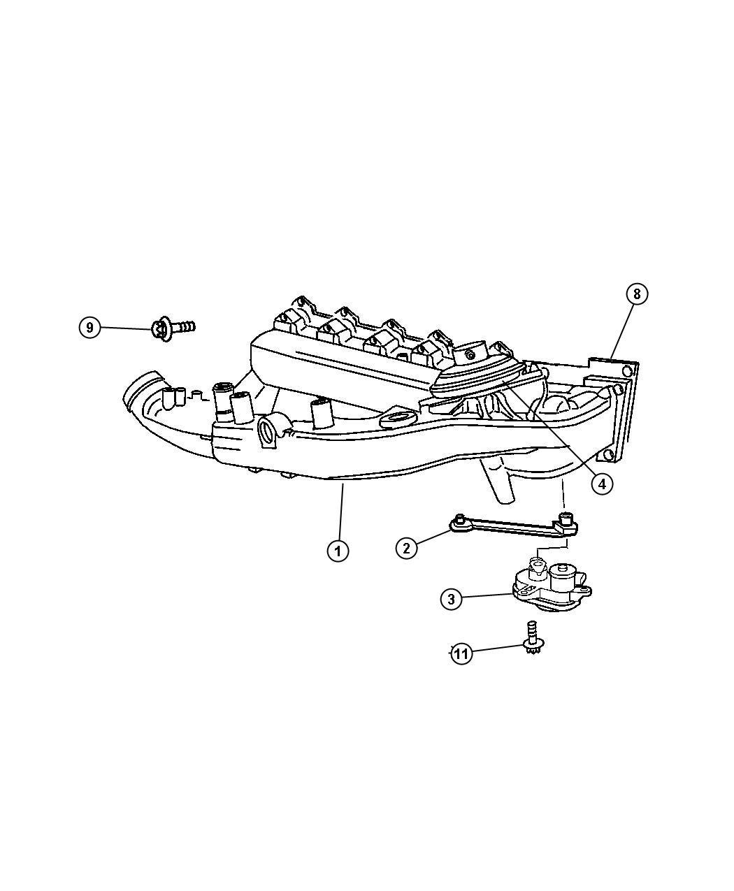 Dodge Sprinter Gasket Intake Manifold